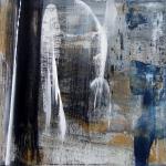 Catharina de Rijke | Erde, Tagebau XV | 2014 | 40 x 40 cm