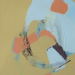 Catharina de Rijke | Gehen I | 2015 | 100 x 70 cm | Zyklus Gehen